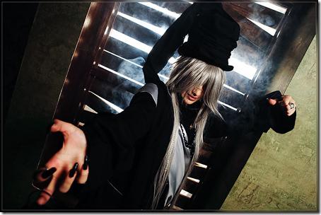 kuroshitsuji cosplay - undertaker