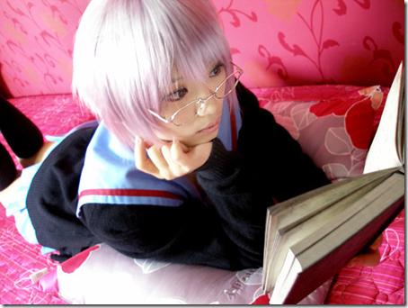 the melancholy of suzumiya haruhi cosplay - nagato yuki 02