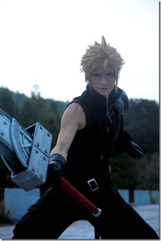 final fantasy vii advent children cosplay - cloud strife 04