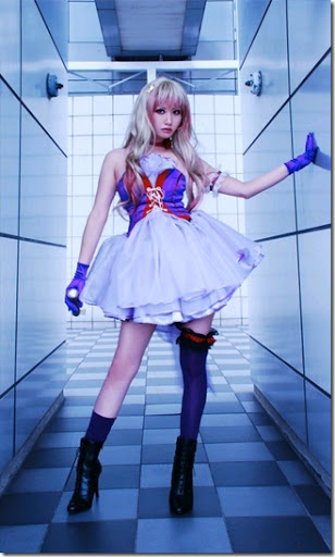 macross frontier cosplay - sheryl nome