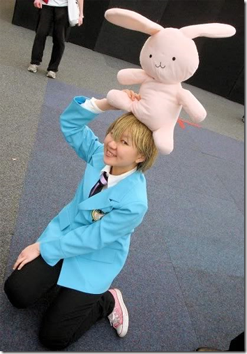 ouran high school host club cosplay - haninozuka hani honey hunny mitsukuni
