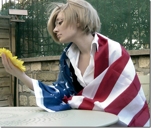 hetalia: axis powers cosplay - america