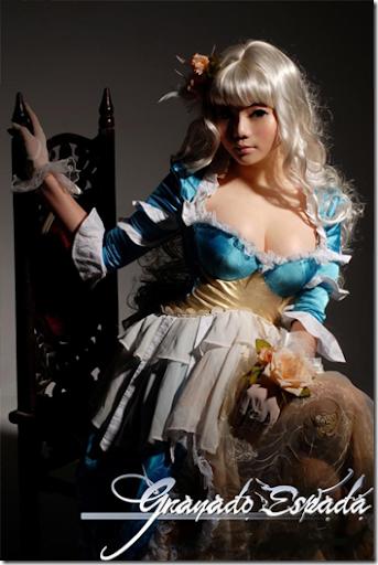 granado espada cosplay - female elementalist