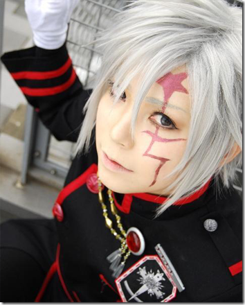 d. gray-man cosplay - allen walker 04