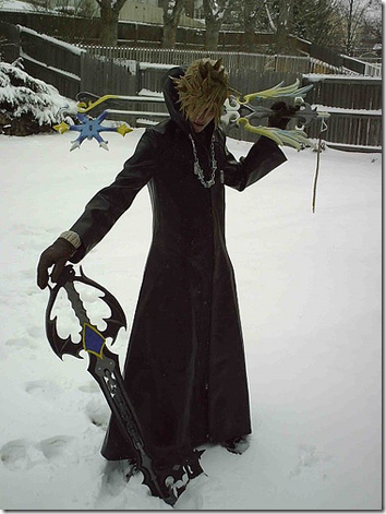 kingdom hearts 358/2 days cosplay - roxas