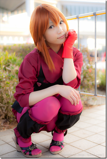 unknown cosplay 81 from winter comiket 2010 / mobile suit gundam zz cosplay - elpeo puru