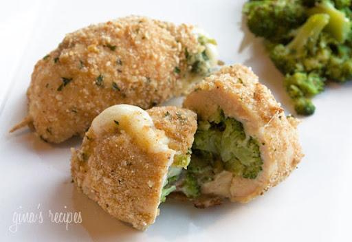 Broccoli and Cheese Stuffed Chicken | Skinnytaste