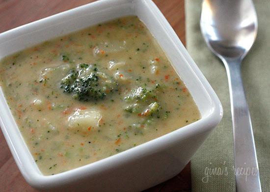 Broccoli Cheese and Potato Soup | Skinnytaste