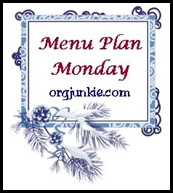 menu plan monday winter