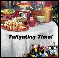 tailgating time badge