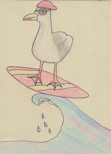 Seagull Surfer
