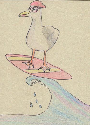 Seagull Surfer