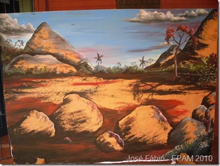Painel de José Fábio - 2º normal médio A