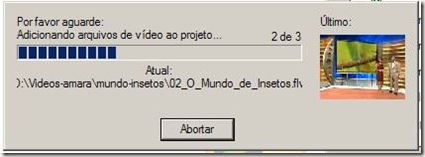 nero - adicionando arquivos