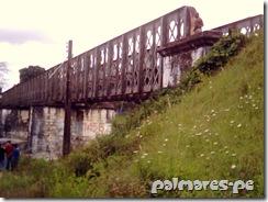 Ponte da linha férrea construída pelos ingleses