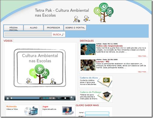 Cultura Ambiental nas Escolas - Tetra Pak