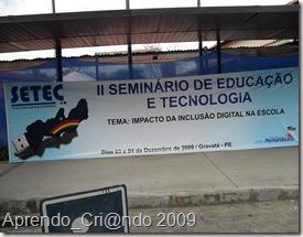 Seminário de Educação e Tecnologia