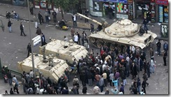 militares egipcios vencidos