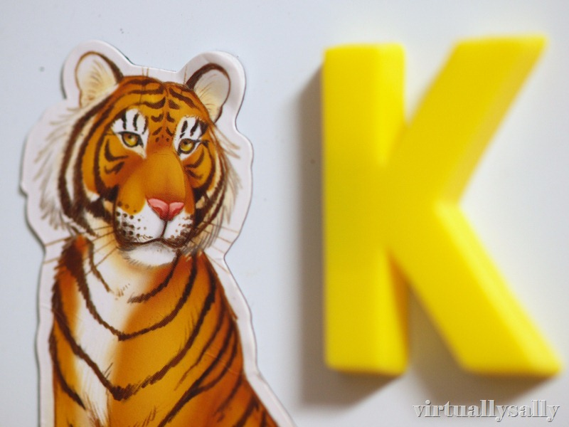 k is for kitty