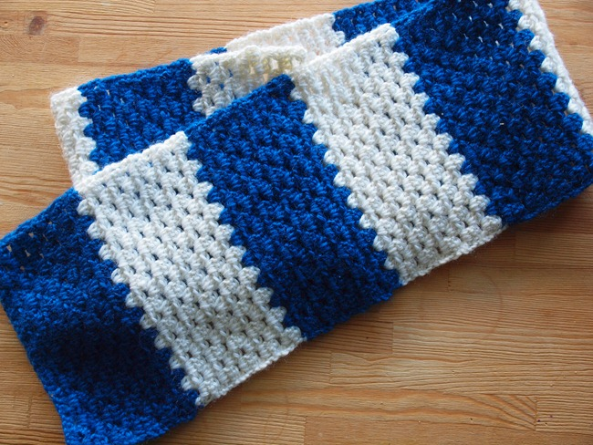 the mini scarf that became a dashboard cover
