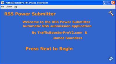 Gambar aplikasi submit feeds