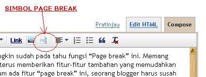 simbol page break