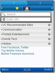 UCWeb browser