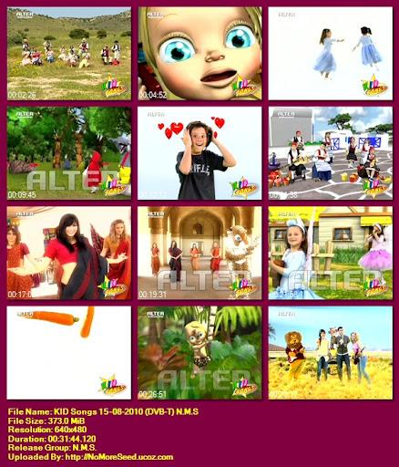 KID Songs 15-08-2010 (DVB-T) N.M.S (ALTER)