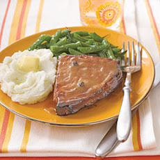 Ham Steaks with Honey-Mustard
