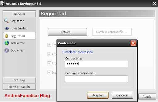 Keylogger ardamax ftp
