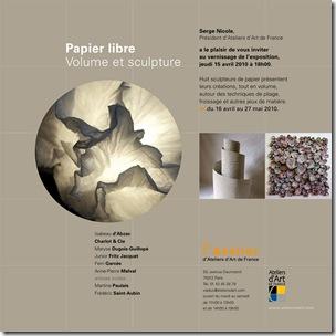 Exposition Papier libre