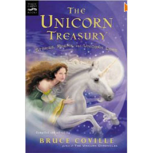The Unicorn Treasury Stories Poems And Unicorn Lore Cover