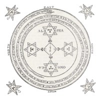 The Magic Circle A Consecrated Circle In Which Great Feats Of Magical Operations Are Performed Cover