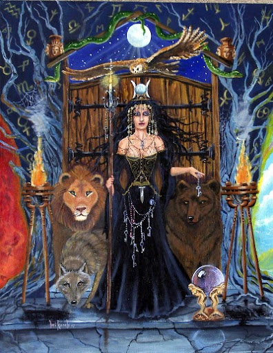 Greek Goddess Hecate Cover