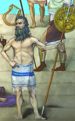 God Poseidon Cover