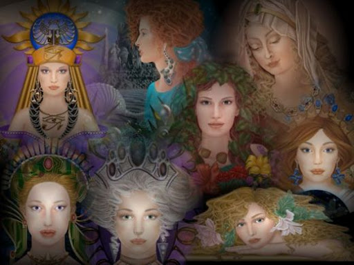 Roman Goddesses Cover