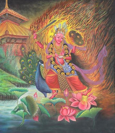 Goddess Kumari Cover