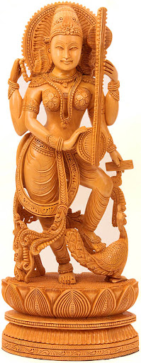 Goddess Saraswati Cover