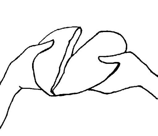 mani che spezzano il pane