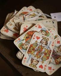 cartas na mesa