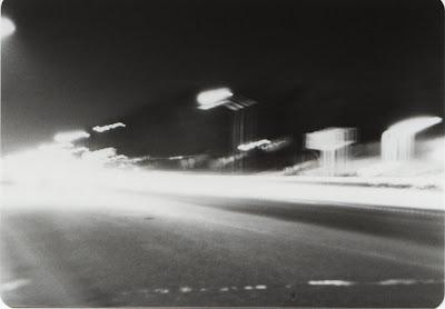 Broadway at Night, Littleton, Colorado taken with a Lavec camera by Joe Beine