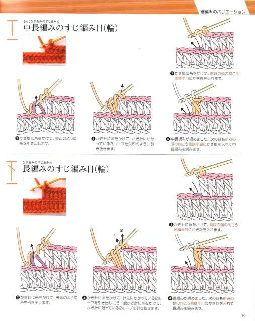 Những mũi MÓC (1) Crochet16
