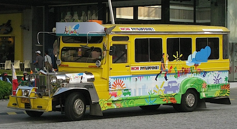 Jeepney Tours' colorful jeepney