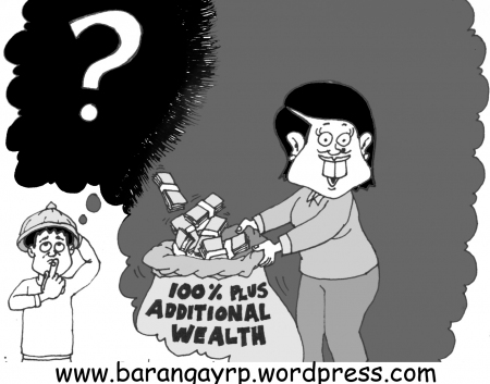 Gloria Arroyo unexplained wealth cartoon from barangayrp.wordpress.com