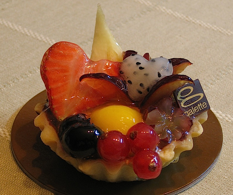 exotic fruit tart from Galette Patisserie & Chocolaterie