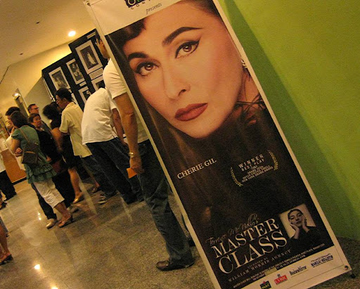 Maria Callas exhibit of the Philippine Opera Company for Terrence McNally's Master Class