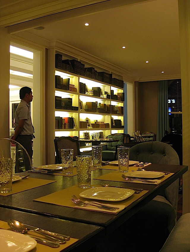 The Lounge dining room of Café 1771