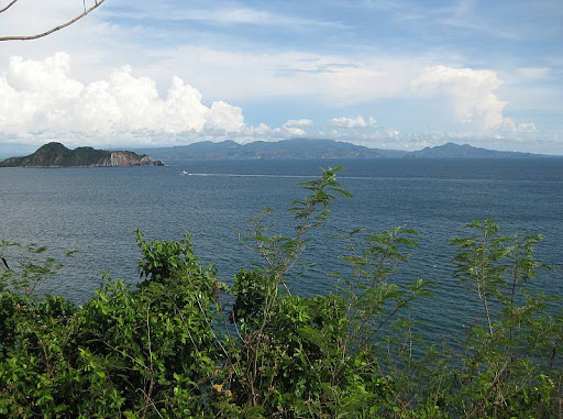 Caballo Island, also known as Fort Hughes, in the South Channel as seen from Corregidor Island