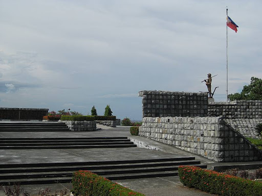 Filipino Heroes Memorial and Farmer-Soldier statue in Corregidor Island