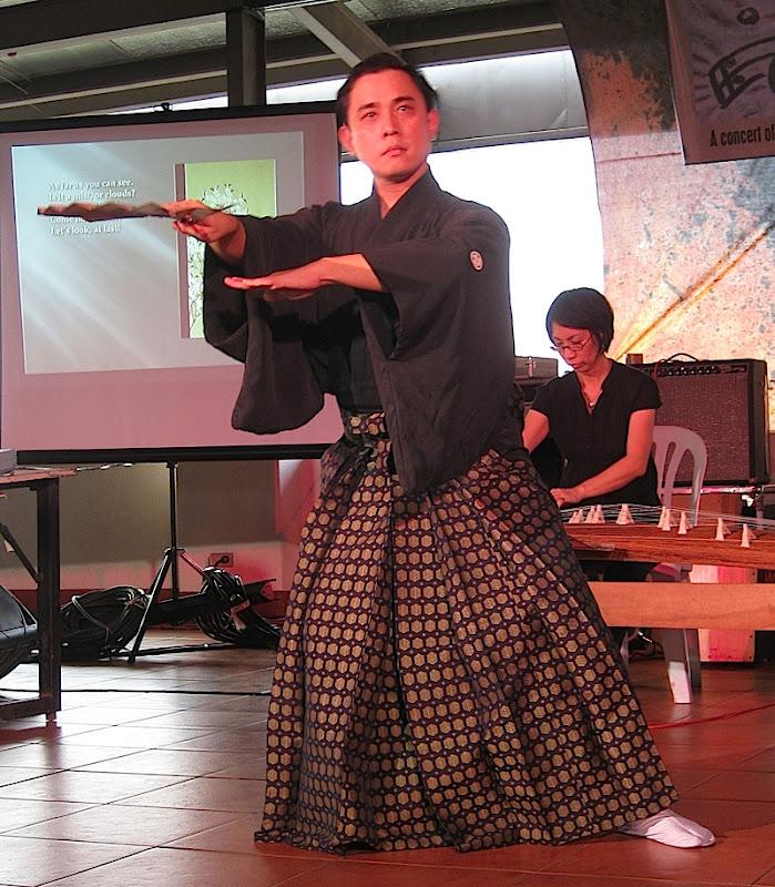 Japanese Nihon Buyo dance